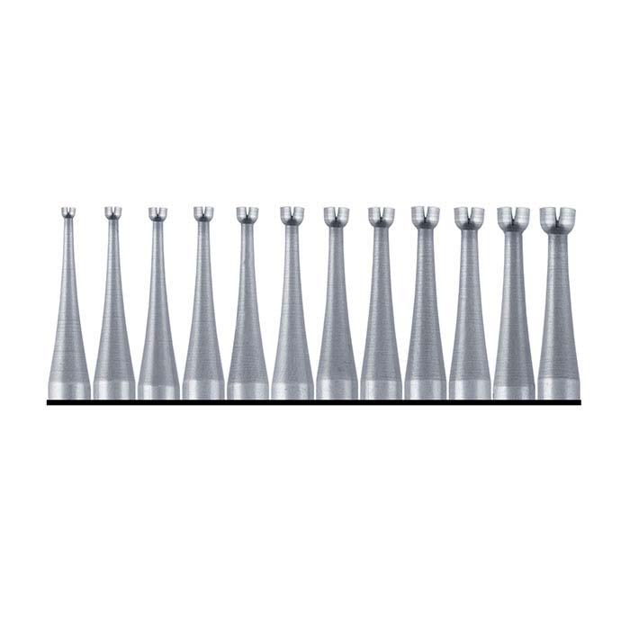 Busch® 12-Piece Twincut Concave Bur Set