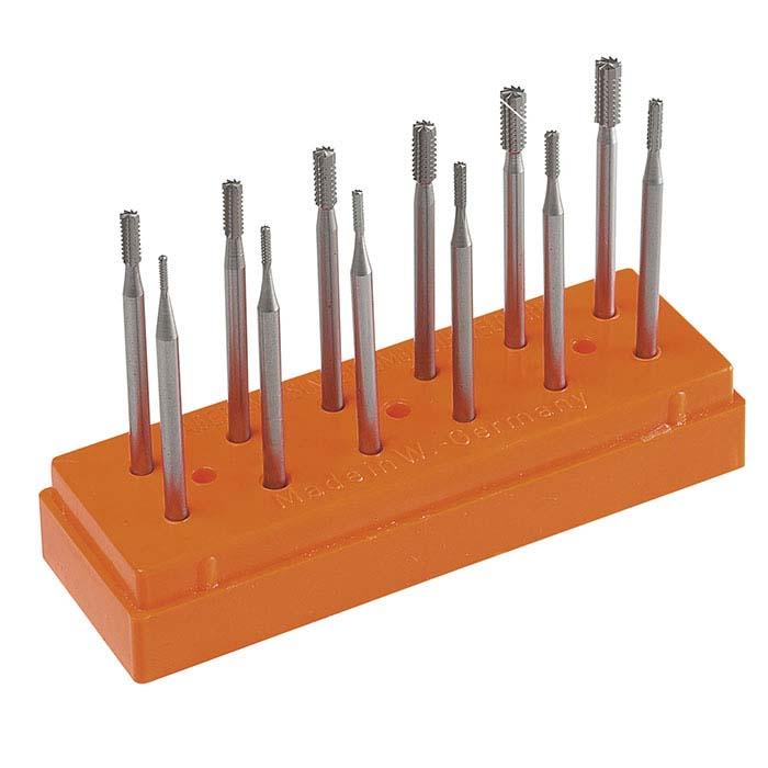 LYNX Square Cross-Cut Burs, Set of 12