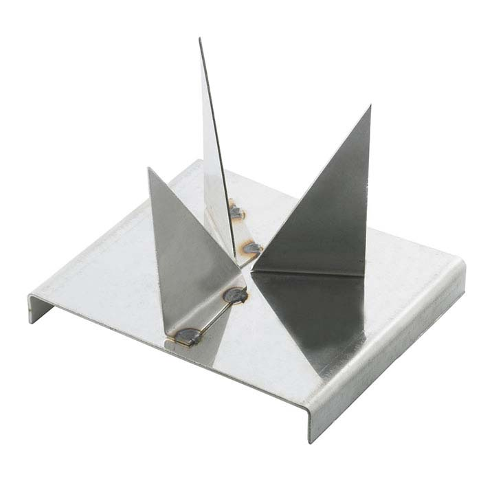 Three-Slant Stainless Steel Firing Trivet