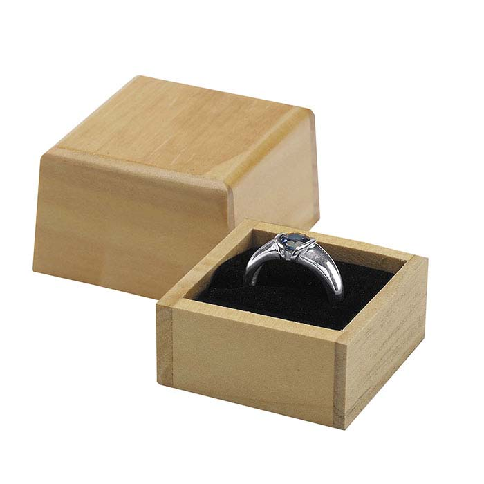 Pine Handmade Ring Gift Box