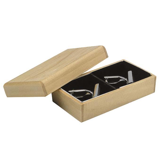 Pine Handmade Cuff Link Gift Box