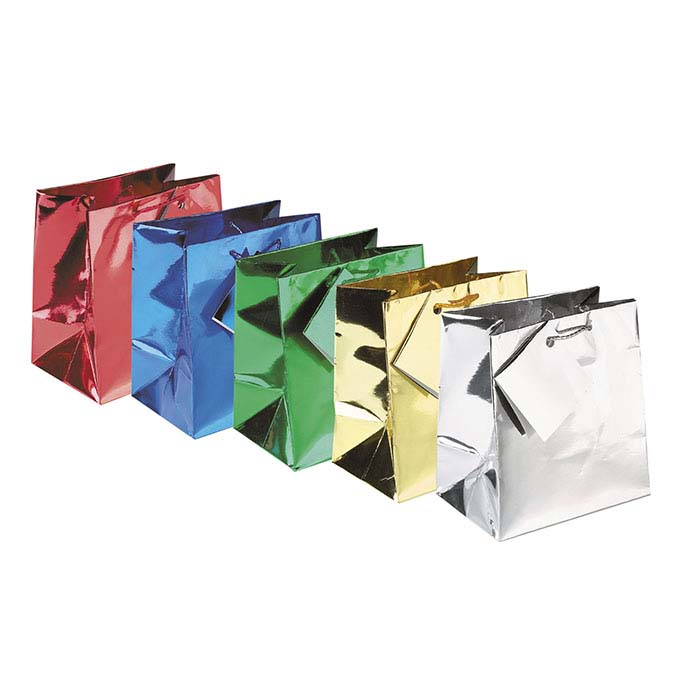 Metallic Paper Tote Assortments
