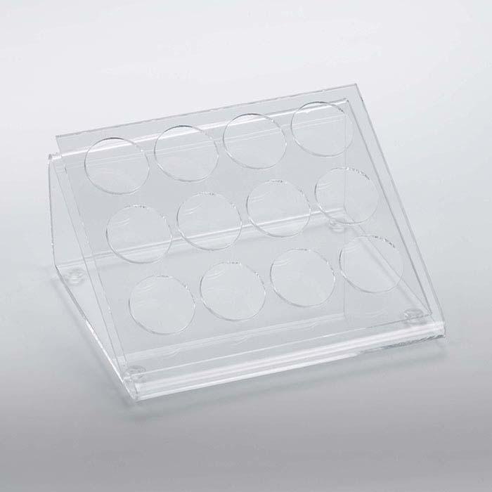 Clear Acrylic Gem Jar Display
