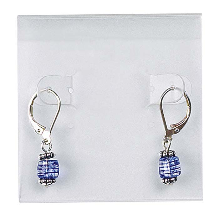 Frost Acrylic Hanging Earring Card