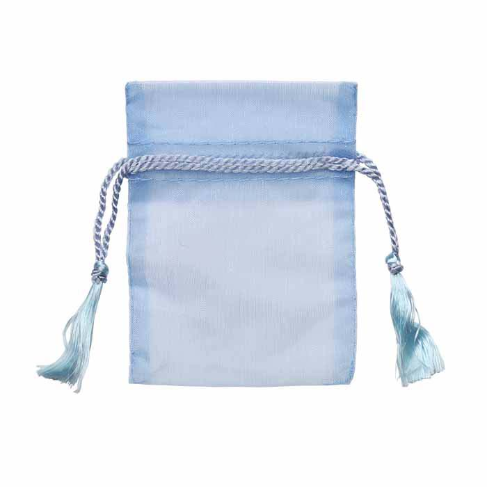 Organza Pouches with Tassels