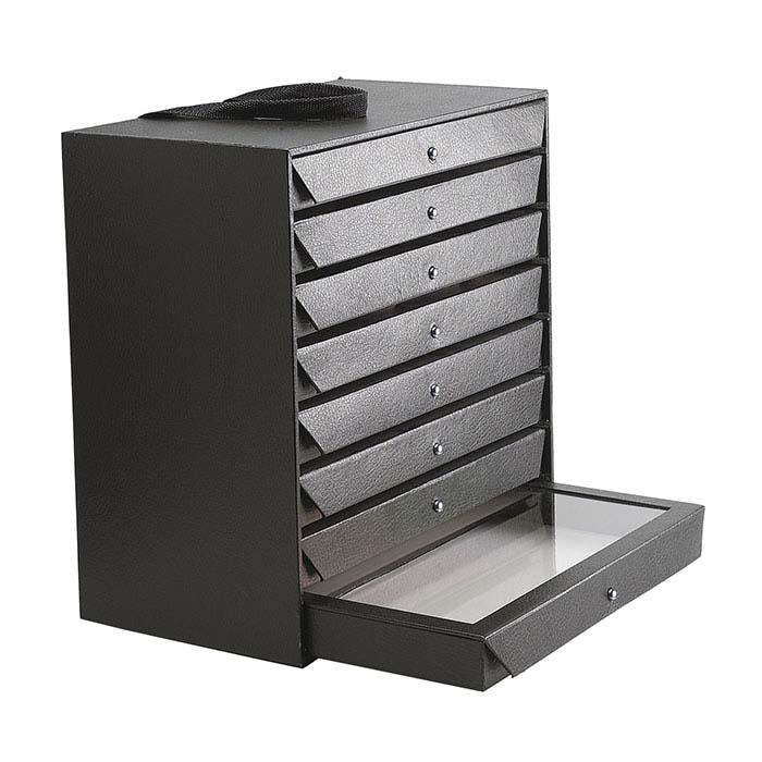 Black Travel Storage Organizer