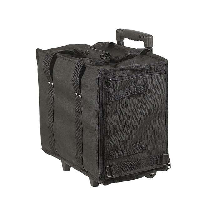 Black Soft-Sided Rolling Cases