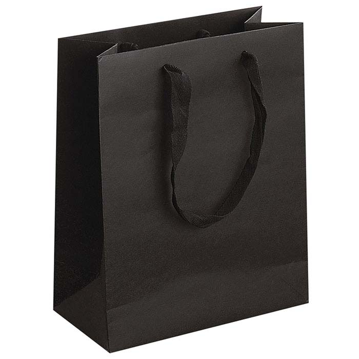 Broadway Black Manhattan Paper Totes