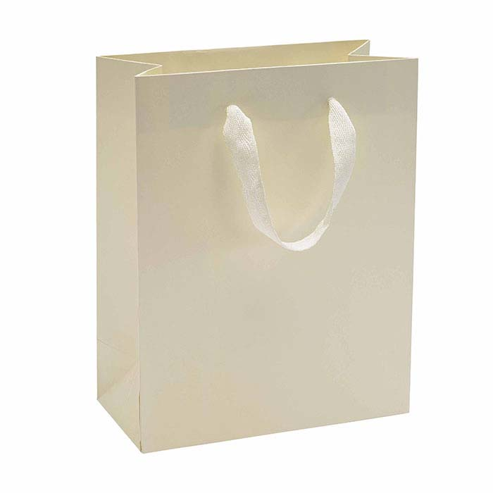 Love New York Ivory Manhattan Paper Totes