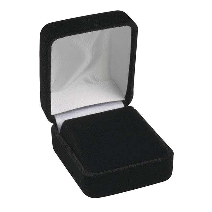 Black Velvet Earring Gift Box
