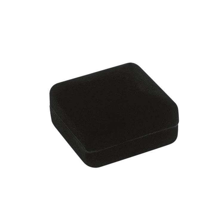Black Velvet Flap Earring Gift Box