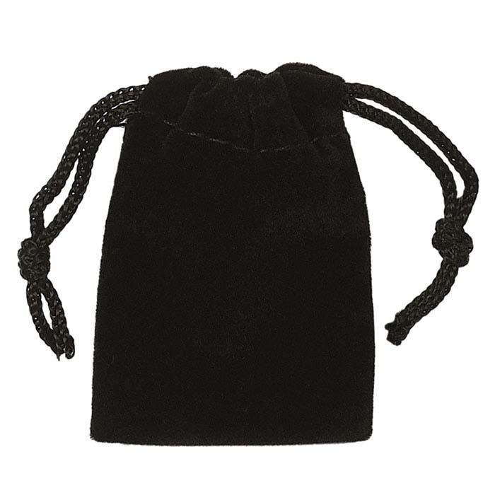 Black Velvet Pouches