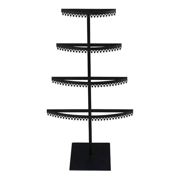 Royal Crown Metal 4-Tier Earring Displays