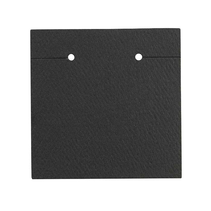 Black Matte High-Slot Earring Card