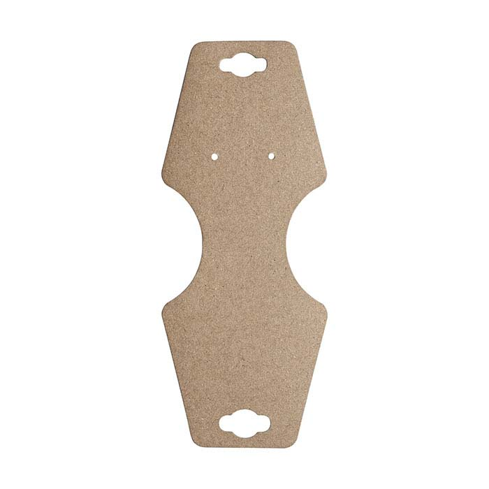Kraft Matte Paper Combination Jewelry Card