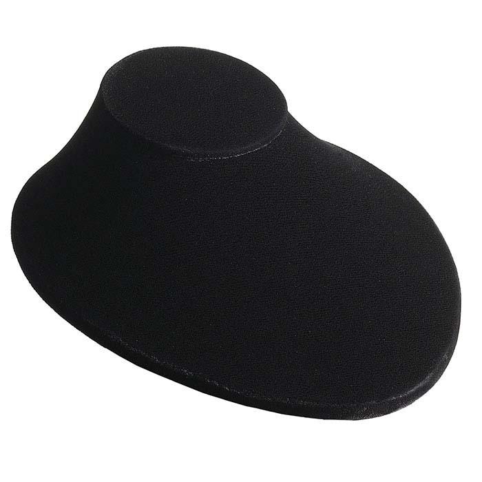 Deluxe Black Velvet Necklace Bust Display