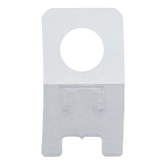 Clear Plastic Adhesive Hanging Card Adapter