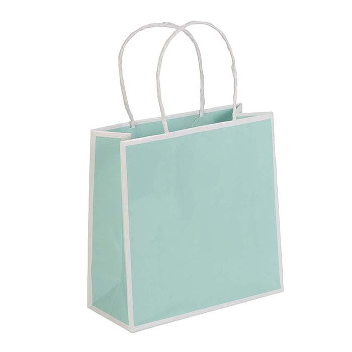 Mission Bay Blue Paper San Francisco Shopper Tote
