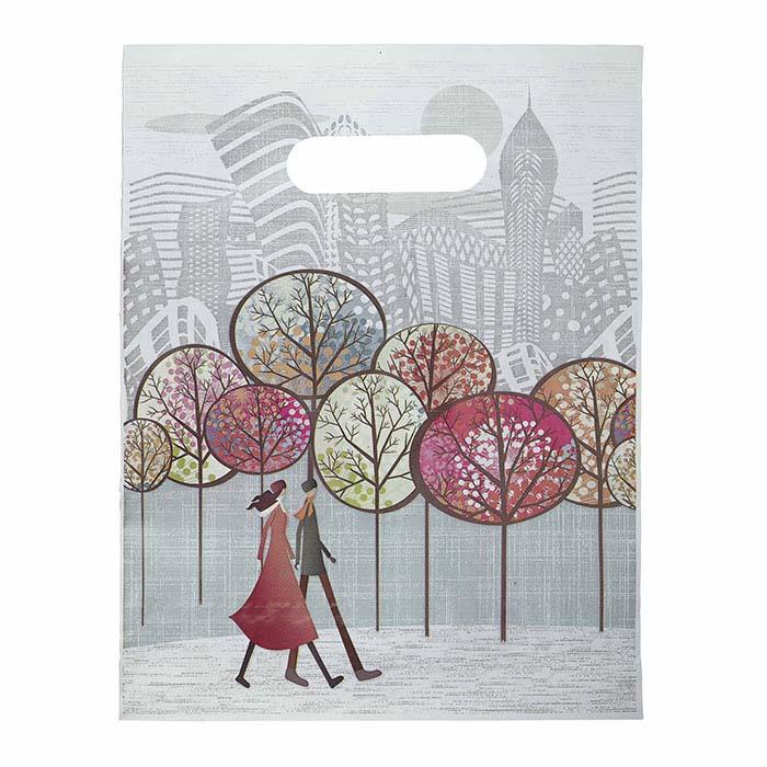 """Promenade Collection"" Plastic Merchandise Bag"