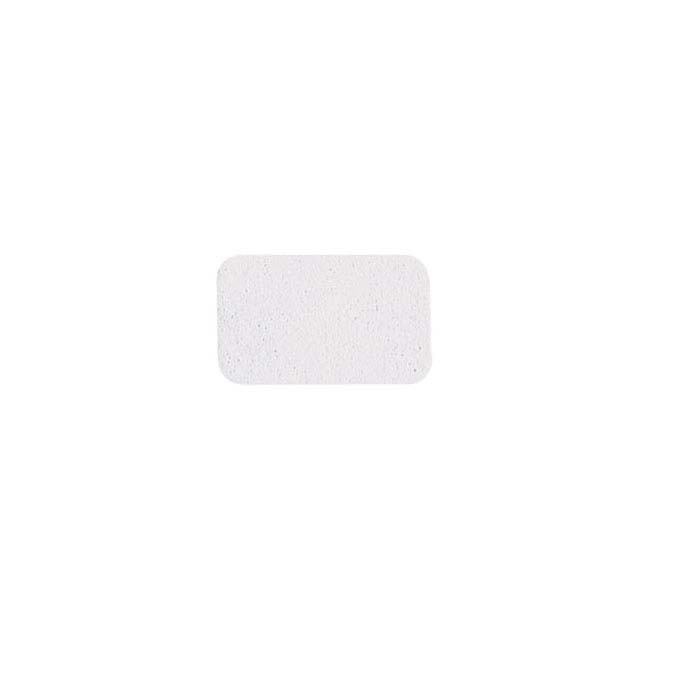 White Paper Rectangle Adhesive Label