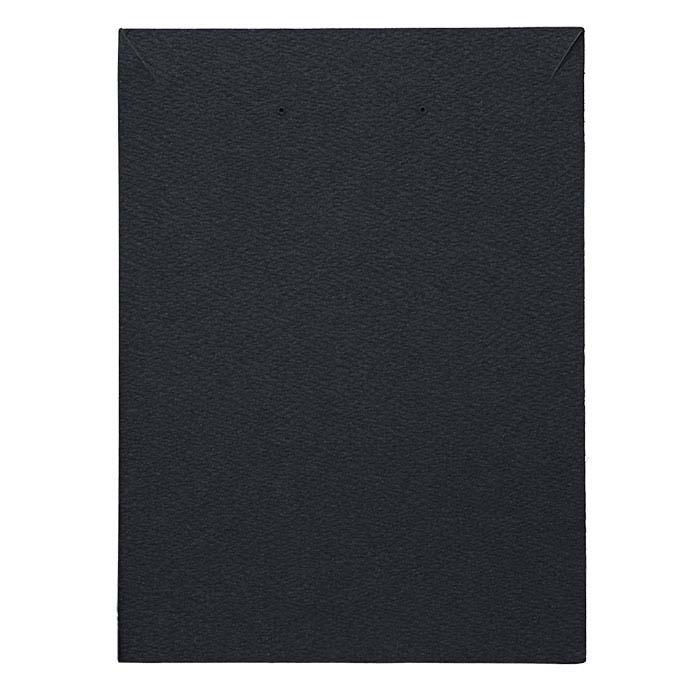 Black Pendant and Earring Presentation Card Insert