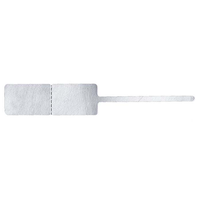 White Tadpole™ Tear-Proof Adhesive Tag