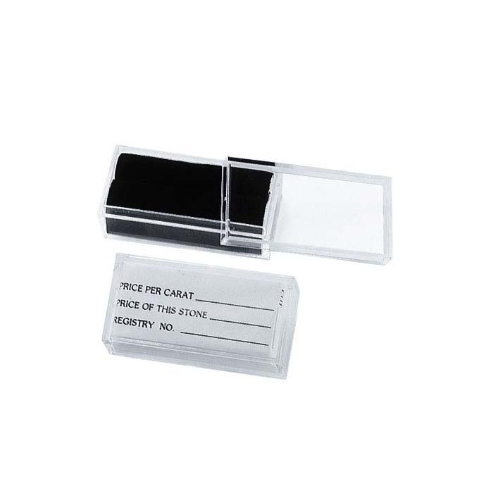 Clear Acrylic Gem Box, Rectangle