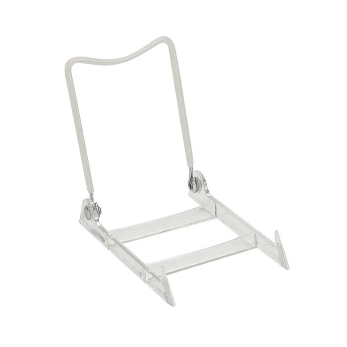 Clear Acrylic Adjustable Easel Display