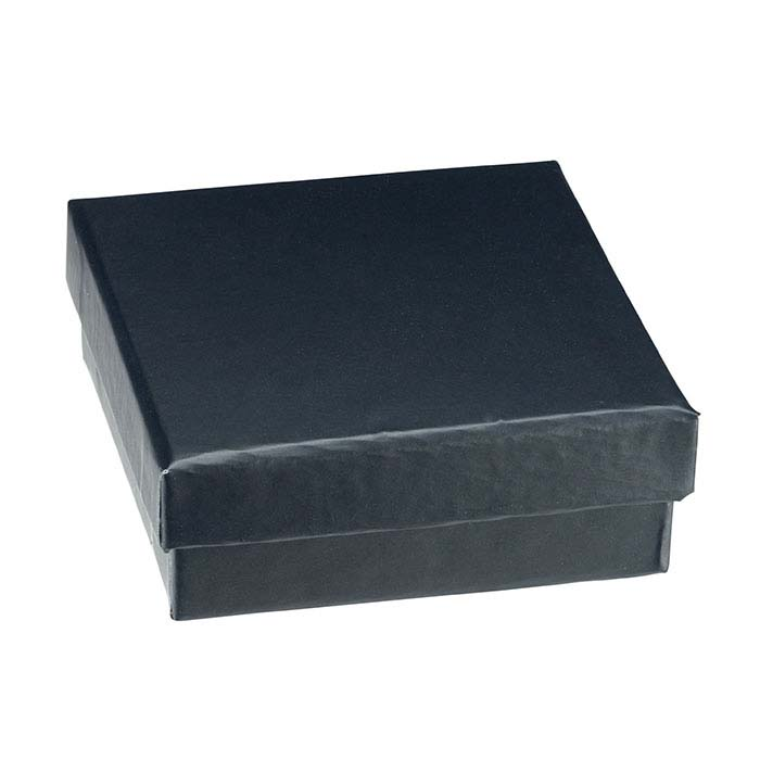Soft Touch Black Pendant or Earring Gift Box
