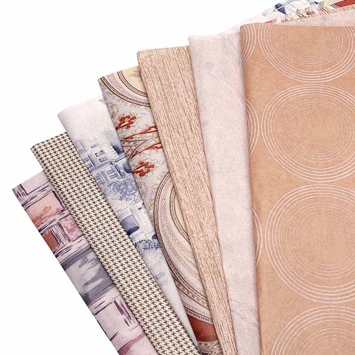 Random-Print Tissue Paper Assortment, 100 Sheets