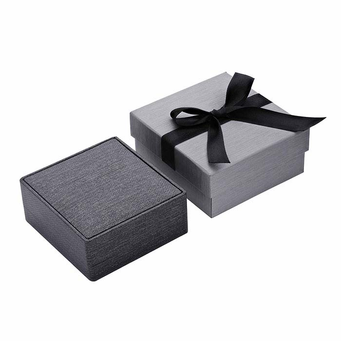 Silver Night Metallic Premium Ribbon Combination Gift Box