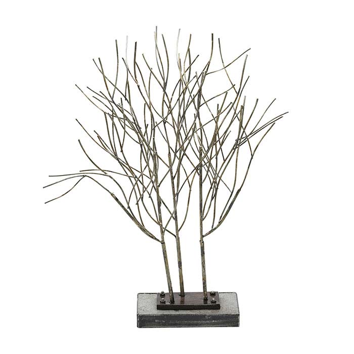 "Metal ""Willow"" Trees Display"