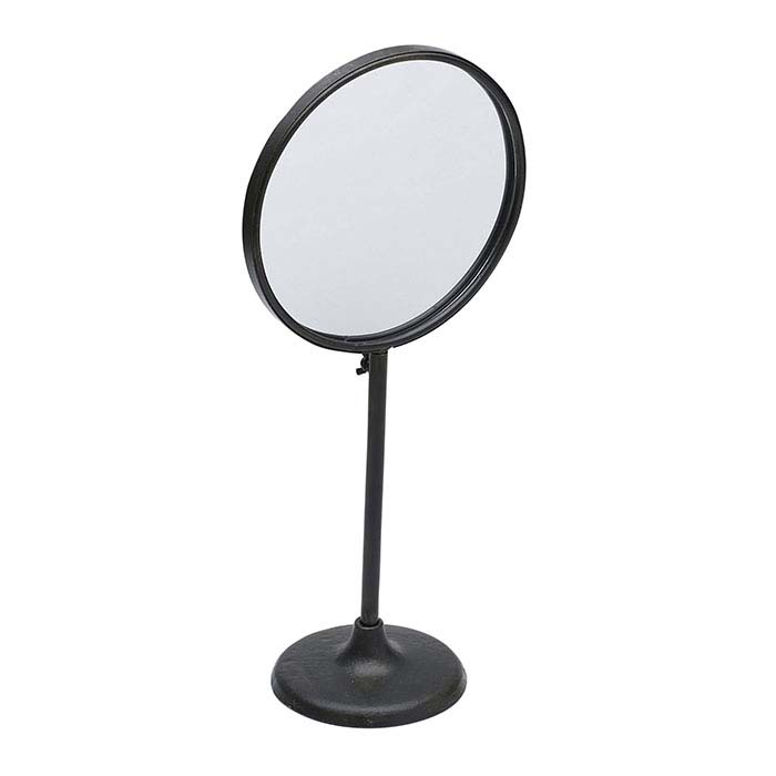 Metal Adjustable-Height Mirror