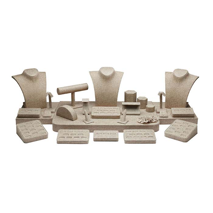 Burlap Display Collection, 29-Piece