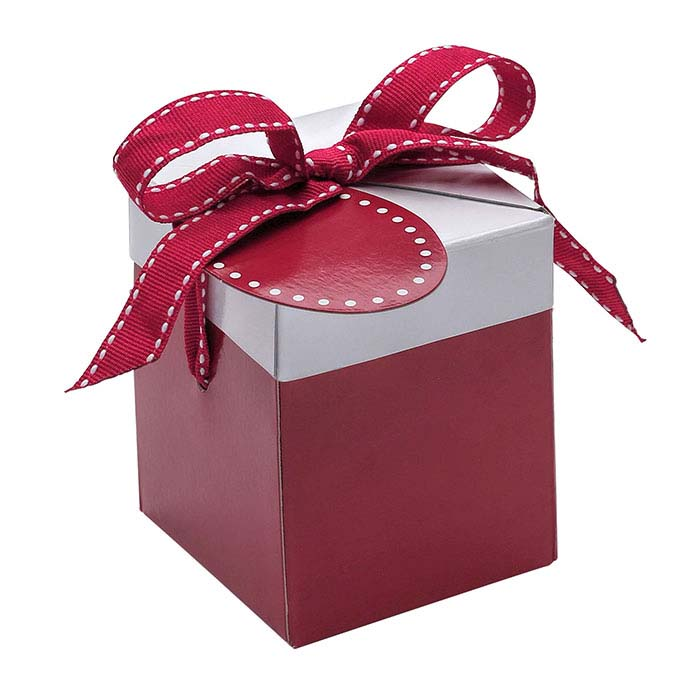 Red & White Mini Pop-Up Universal Gift Box