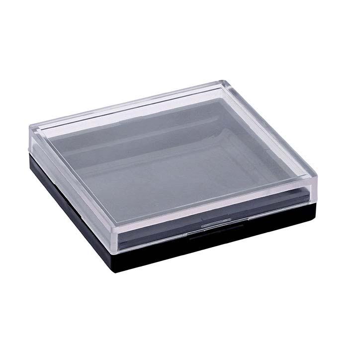 Black Plastic Gel-Coated Cabochon Gem Box