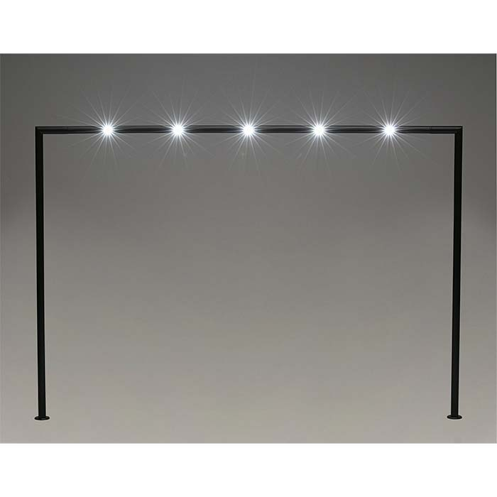 Black Aluminum LED Bridge Display Light
