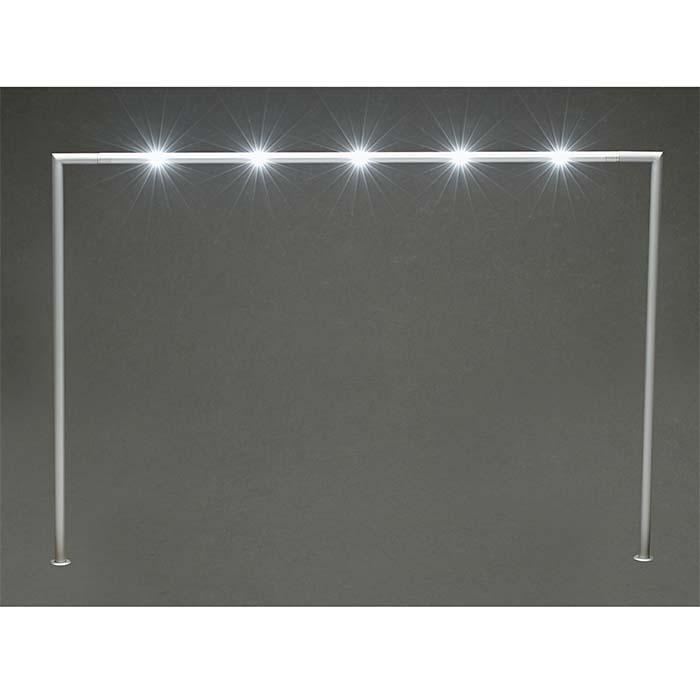 Gray Aluminum LED Bridge Display Light