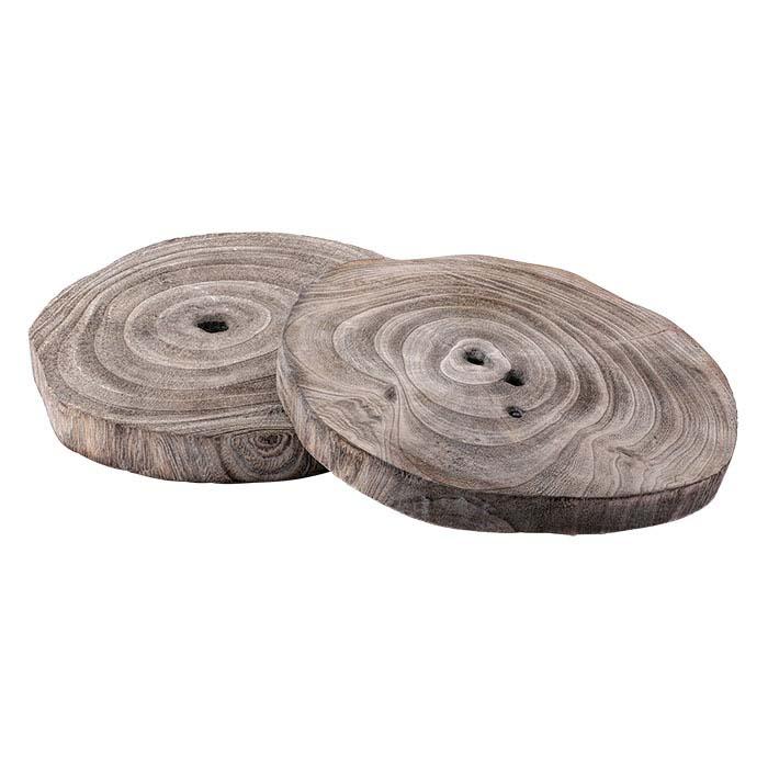 Paulownia Wood Round Riser