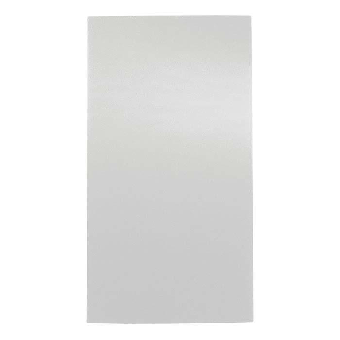 White Velvet Full-Size Display Pad