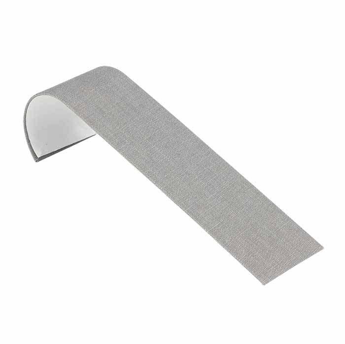 Silver Linen Ramp Bracelet Display