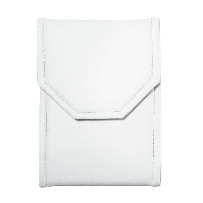 White Vinyl Large Necklace Folder
