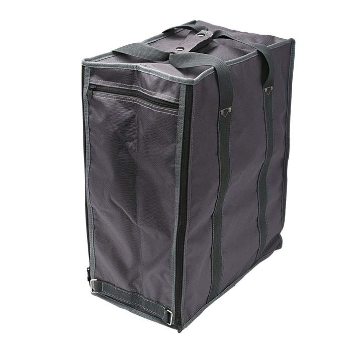 Gray Soft-Sided Travel Case