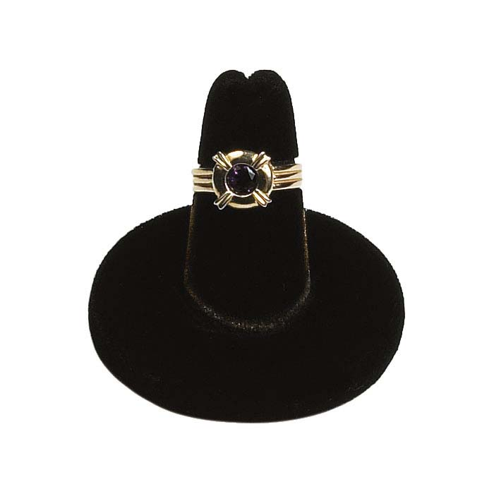 Black Velvet Pretty Fingers™ Ring Display