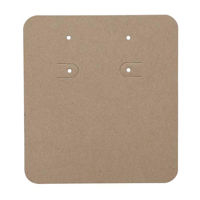 Kraft Pierced or Clip Earring Card