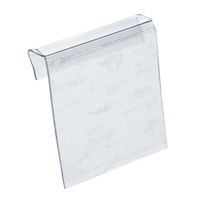 "Clear Plastic 1"" x 1"" Adhesive Jewelry Card Adapter"