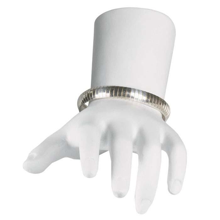 White Polystyrene Petite Hand Display