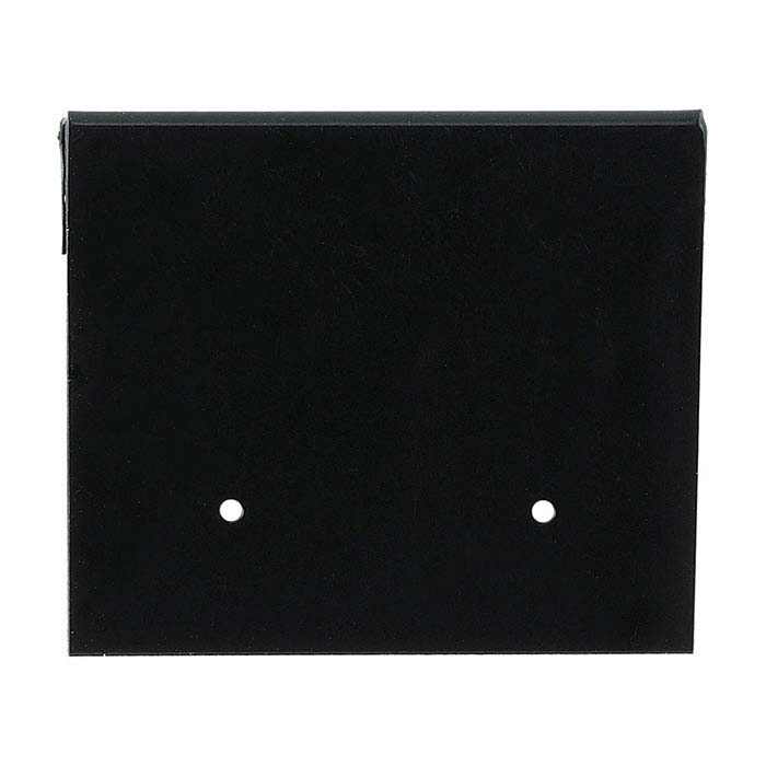 Black Plastic Hanging Earring Card