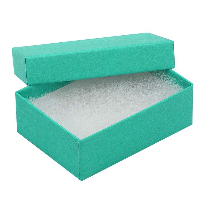 Tropical Blue Paper-Covered Gift Boxes