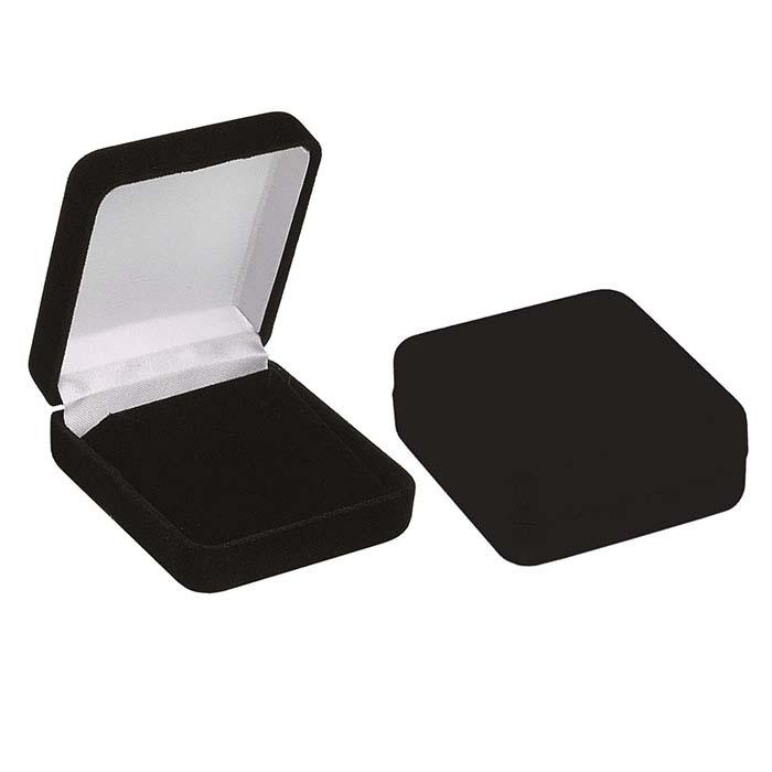 Flocked Velour Pendant Gift Boxes